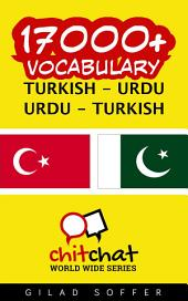 17000+ Turkish - Urdu Urdu - Turkish Vocabulary
