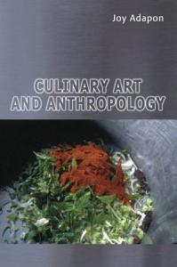Culinary Art and Anthropology Book