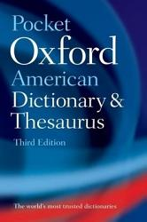 Pocket Oxford American Dictionary and Thesaurus PDF