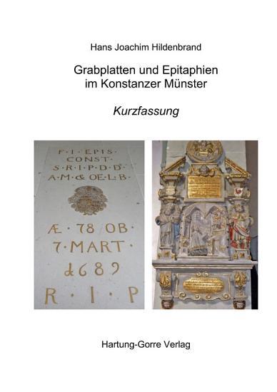 Grabplatten und Epitaphien im Konstanzer M  nster PDF