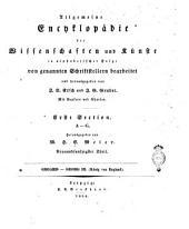 Allgemeine Encyclopädie der Wissenschaften und Künste in alphabetischer Folge: A-G. 59., Geoaris-Georg, Band 59