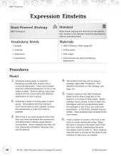 Brain Powered Lessons  Ordering Math Expressions PDF
