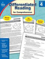 Differentiated Reading for Comprehension  Grade 4 PDF