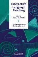 Interactive Language Teaching PDF