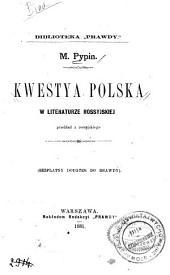 Kwestya polska w literaturze rossyjskiej
