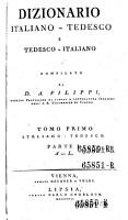 Dizionario italiano tedesco e tedesco italiano PDF