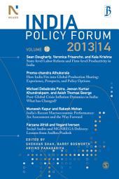 India Policy Forum 2013-14: Volume 10