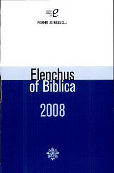 Elenchus of Bibilica PDF