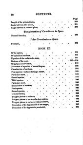 Elements of analytical geometry: embracing the equations of the point, the straight line, the conic sections, and surfaces of the first and second order