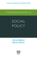 Advanced introduction to Social Policy PDF