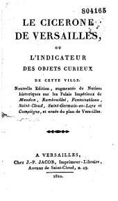 Le Cicérone de Versailles ou l'indicateur des objets curieux de cette ville