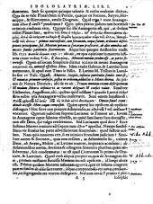 Gerardi Ioannis Vossii De theologia gentili, et physiologia Christiana, sive De origine ac progressu idololatriae: ad veterum gesta, ac rerum naturam, reductae : de que naturae mirandis, quibus homo adducitur ad Deum