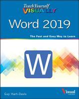 Teach Yourself VISUALLY Word 2019 PDF