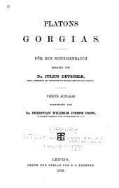 Platons ausgewählte schriften: Für den schulgebrauch erklärt ..., Band 2