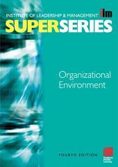 Organisational Environment: Edition 4