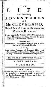 The Life and Entertaining Adventures of Mr. Cleveland: Natural Son of Oliver Cromwell, Volume 4