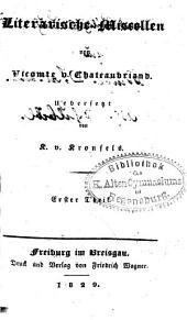 Sämmtliche Werke: Literarische Miscellen, Theil 1, Band 43