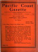 Pacific Coast Gazette