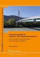Translationspolitik f  r Regional  oder Minderheitensprachen PDF