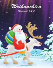 Weihnachten Malbuch 1 & 2