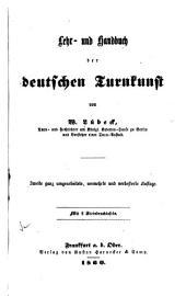 Lehr- und Hanbuch der deutschen Turnkunst
