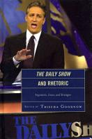 The Daily Show and Rhetoric PDF