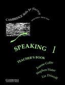 Speaking 1 Teacher's Book