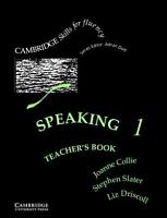 Speaking 1 Teacher s Book PDF