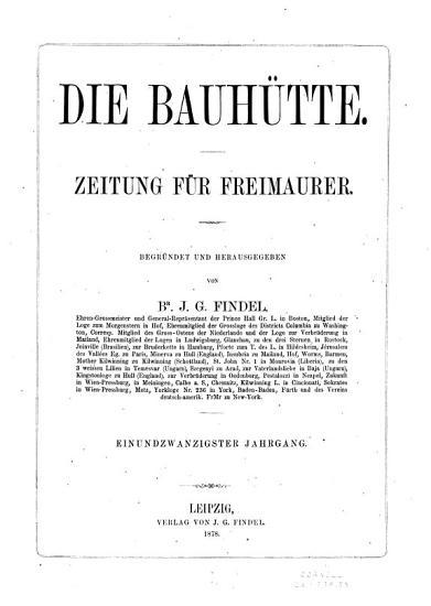 Die Bauh  tte PDF