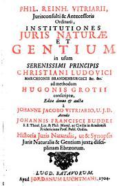 Institutiones iuris naturae et gentium