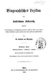 Biographisches Lexicon des Kaiserthums Österreich, enthaltend die Lebensskizzen der denkwürdigen Personen, welche 1750 bis 1850 im Kaiserstaate und in seinen Kronländern ... gelebt haben: Band 8