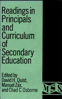 Readings in Principals and Curriculum of Secondary Education PDF