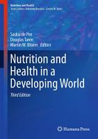 Nutrition and Health in a Developing World PDF