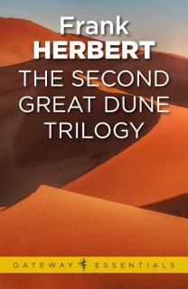 The Second Great Dune Trilogy Book