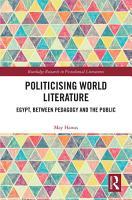 Politicising World Literature PDF