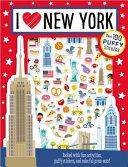 Puffy Stickers I Love New York