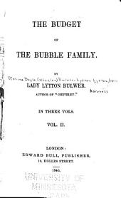The Budget of the Bubble Family: Volume 2