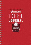 Personal Diet Journal Book