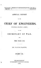 Report of the Chief of Engineers U.S. Army: Part 2