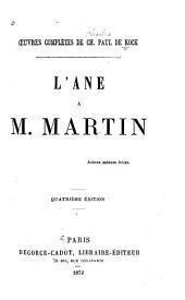 L'âne à M. Martin
