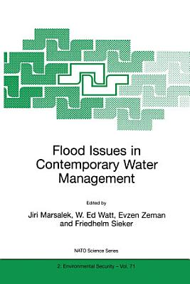 Flood Issues in Contemporary Water Management PDF
