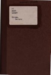 Briefe von Herman und Gisela Grimm an die Schwestern Ringseis