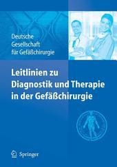 Leitlinien zu Diagnostik und Therapie in der Gefäßchirurgie