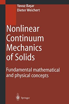 Nonlinear Continuum Mechanics of Solids