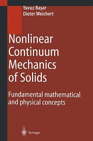 Nonlinear Continuum Mechanics of Solids PDF