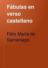 Fábulas en verso castellano: para el uso de las escuelas de instrucción primaria