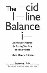 The Acid Alkaline Balance Diet Book PDF