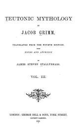 Teutonic Mythology: Volume 3