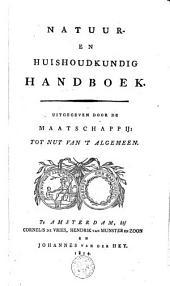 Natuur- en huishoudkundig handboek