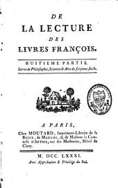 Mélanges Tirés d'une Grande Bibliothèque: Volume13